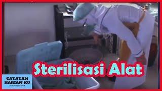 Cara desinfeksi tingkat tinggi dan memakai alat pelindung diri prosedur sterilisasi bekas pakai dengan pemrosesan bekas...