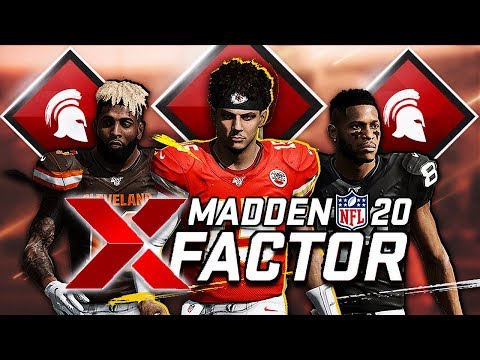 Every Player in Madden 20 with Superstar X Factor