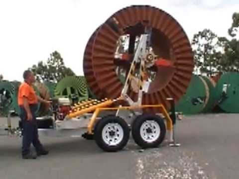 Redmond Gary Australia's New 2.5T Self Loading Cable Trailer