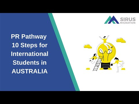 PR PATHWAY 10 STEPS FOR INTERNATIONAL STUDENTS IN AUSTRALIA