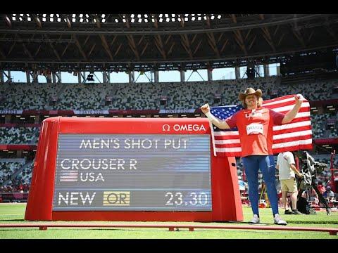 Ryan Crouser Dedicates Shot Put Gold Medal to His Late Grandfather