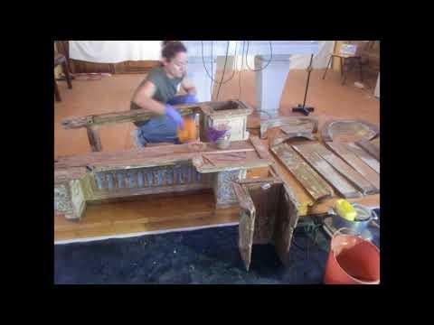 20170914 - Prosseguem as obras de restauro da Igreja de Santa Margarida da Serra