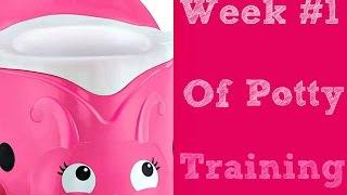 Week #1 Of Potty Training