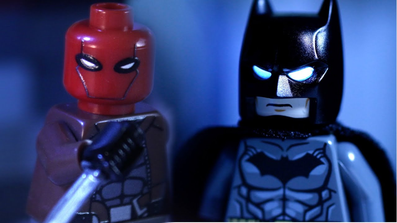 Thanks for 15k subs update 3 lego batman vs red hood and - Batman spiderman lego ...