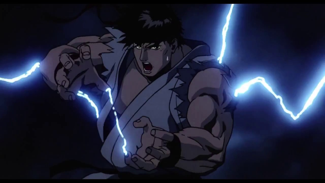 Street Fighter Ii The Animated Movie With Ryu Theme