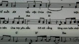 Dâng Lên Cha Mẹ - Guitar cover