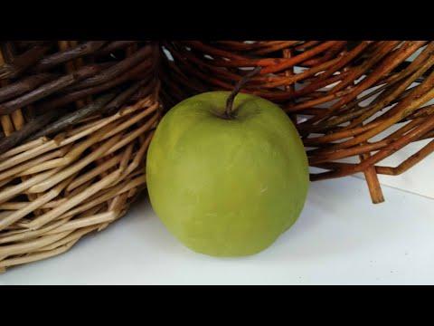 Яблоко папье маше