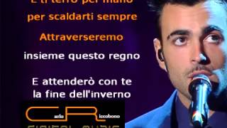Marco Mengoni -Guerriero (karaoke)