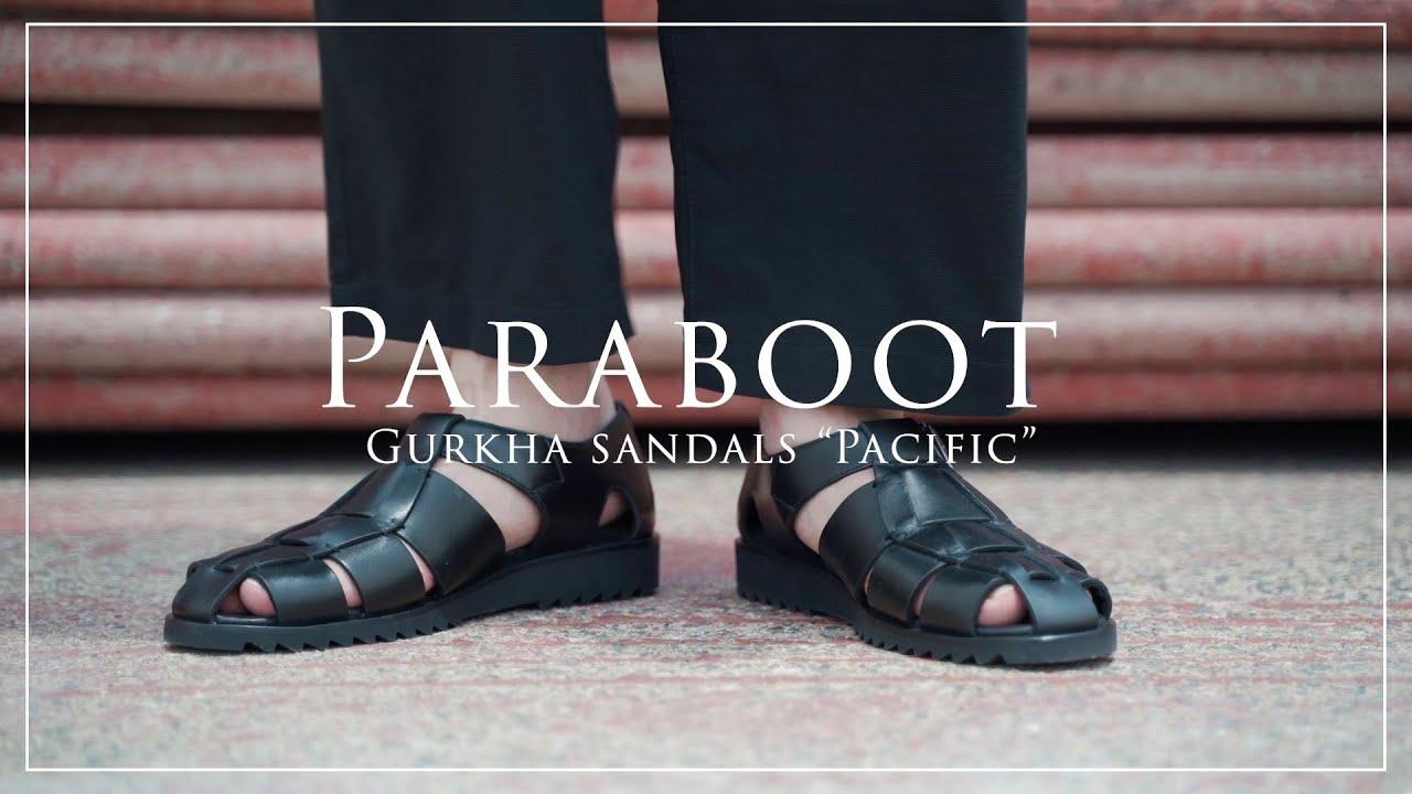 """【Paraboot】フランスの老舗!パラブーツの夏の新定番""""グルカサンダル""""が最高過ぎる!"""