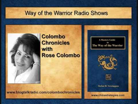 The Colombo Chronicles with Rose Colombo interviews Stefan Verstappen