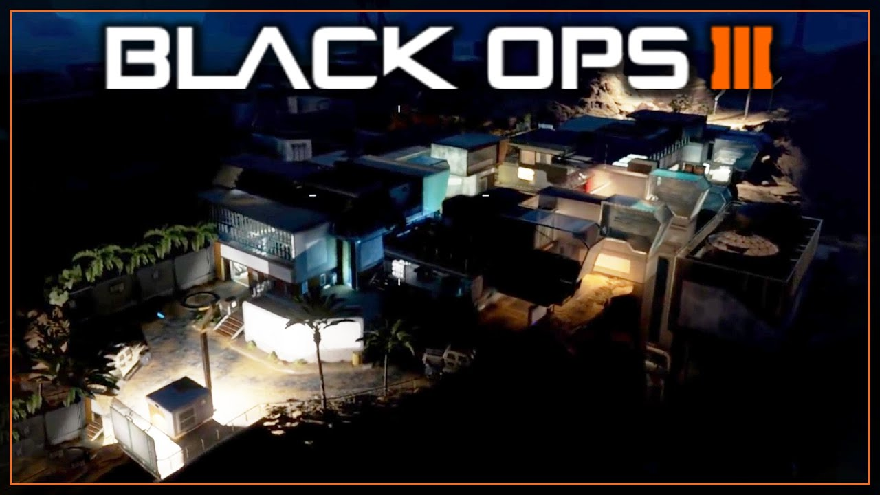 COMBINE AT NIGHT! - Mod Tools Showcase of the First Night Map in BLACK OPS  3! - COD BO3 Mod Tools