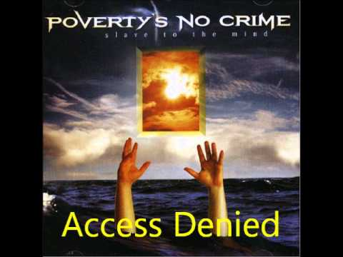 Poverty's No Crime - Access Denied