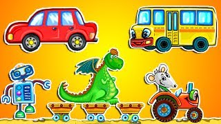 Азбука для малышей. Азбука для детей учим буквы. Мультик про Алфавит учим Алфавит мультфильм