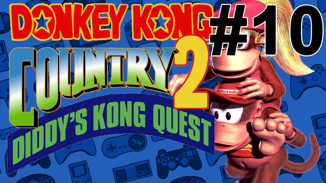 Lets Play Donkey Kong Country 2 10 Kast Of Kharacters