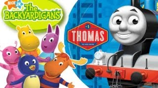 Backyardigans Secret Agent Thomas & Friends