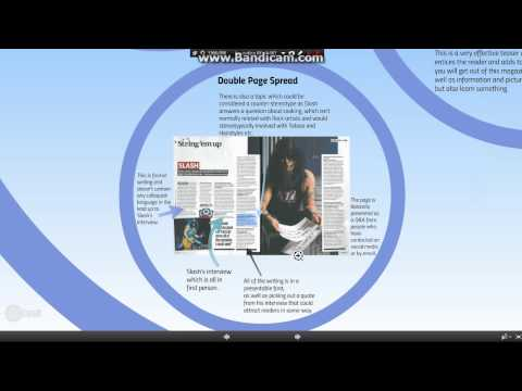 Music Magazine Analysis Presentation