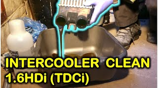 How to remove and clean the intercooler of 1.6HDi/TDCi engines (Peugeot/Citroen, Ford, Volvo, etc.)
