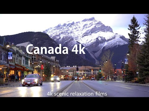 Canada Beautiful Nature 4k UHD| largest country in the North America| world's second-largest country