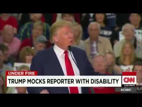 Donald Trump Slammed for Mocking Disabled New York Times ...