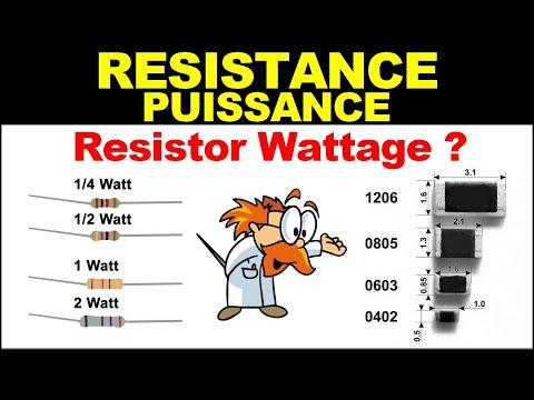 Electronique 🆕 Puissance ? Résistances Cms Smd 🔥 Resistors Wattage ❓