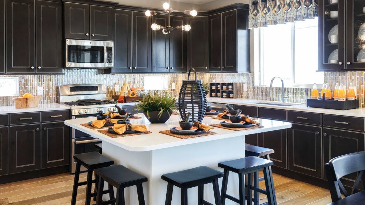Black Design For Kitchen 40 Black Kitchens Design Ideas Youtube