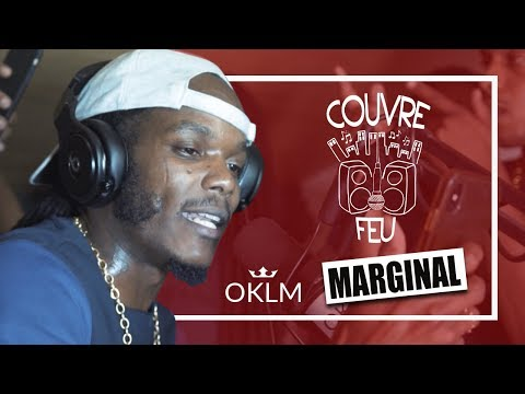 MARGINAL - Freestyle COUVRE FEU sur OKLM Radio