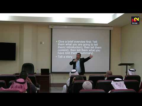 Seminar Plus: Dr Ajour: Delivering a Successful Presentation