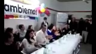 Cambiemos Pro Cap. Sarmiento: Presentación de lista completa 2017 Video