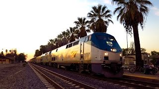 Amtrak Daylight Sunset Limited in 4K