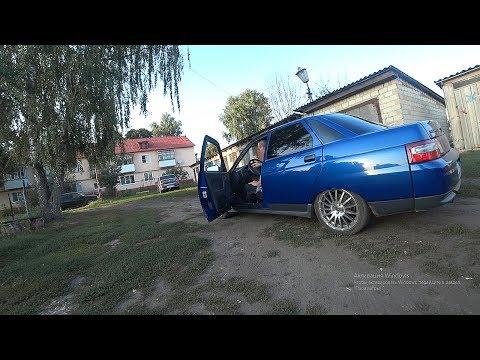 ДЕД ФЛЕКСИТ на 2110    в ГАРАЖЕ у ДЕДА