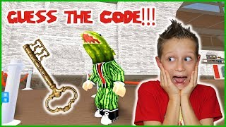 Guessing the Code to Escape!