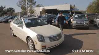 Autoline's 2006 Cadillac CTS 3.6L Walk Around Review Test Drive