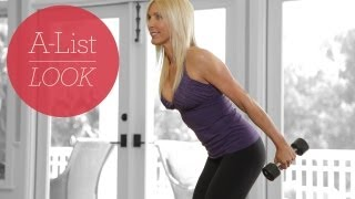 Ultimate Burn & Sculpt Workout | A-List Look With Valerie Waters