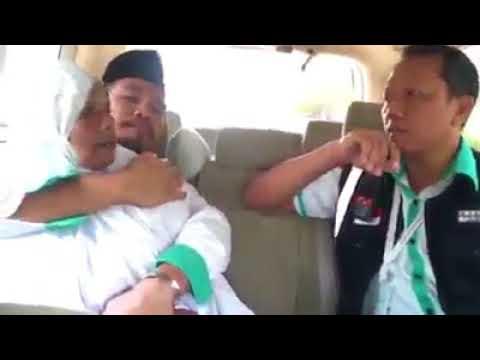 Jamaah Haji Ludahi Petugas Haji Berkali-kali di Dalam Mobil