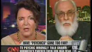 James Randi on Larry King Live 1/26/07 Pt 3