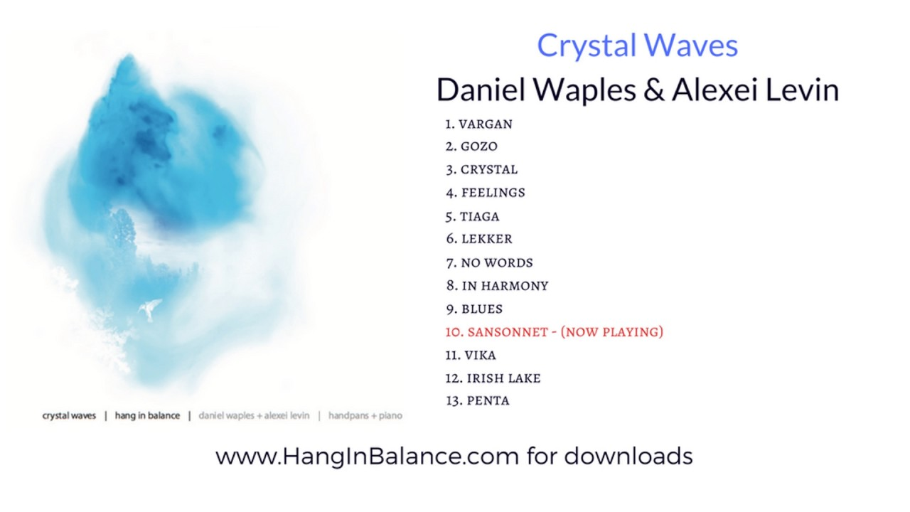 Crystal waves (download by donation) | daniel waples hang in balance.