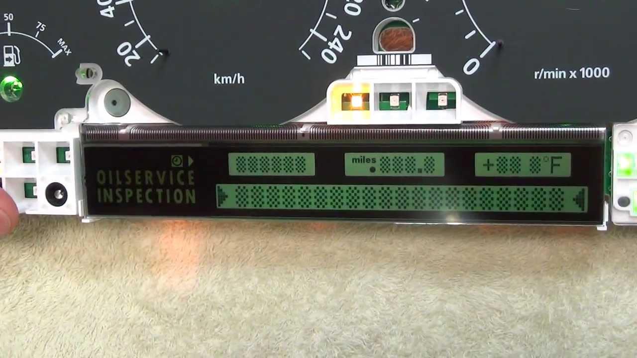 Range Rover L322 pixel repair  Speedo speedometer LCD