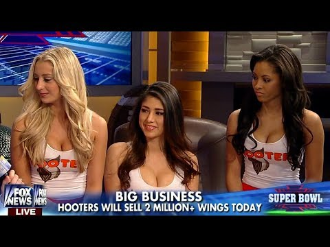 20140202 Hooters on Fox and Friends