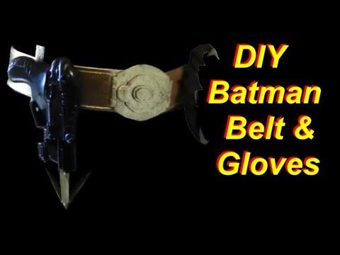 Batman Cosplay DIY Belt and Gloves