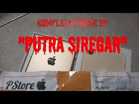 KOMPLAIN IPHONE 7 PUTRA SIREGAR MERAKYAT (PS.STORE) !!!