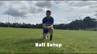 Ball Setup: Ball Direction, Ba…