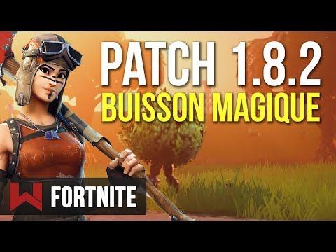 Patch de Novembre : Nerf & Buisson Magique | Fortnite Battle Royale