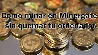 como minar bitcoin oro con minergate)