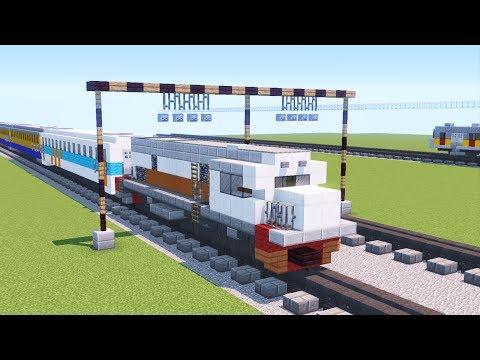 Minecraft Indonesian Railway Concrete Balls Tutorial