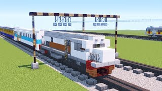 Gambar Kereta Api Minecraft Minecraft Kereta Api Indonesia Imam Satria Silvanna Thewikihow