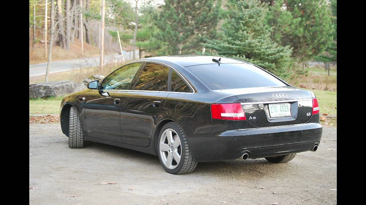 Audi A6 42 Review  YouTube