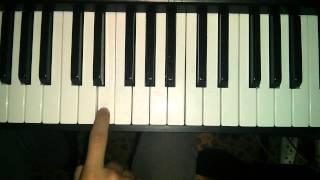 """Мелодия из рекламы """"Рафаэлло"""" на пианино"""