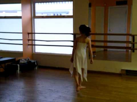Kate McGowanal Ballet Solo 2010, I Can Only Imagine