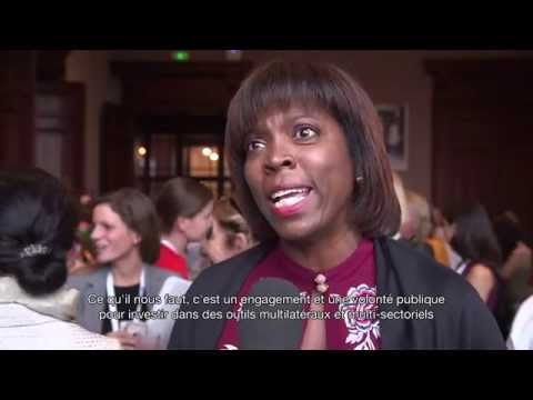 #WF14 - Exclusive interview of Ertharin Cousin, World Food Programme