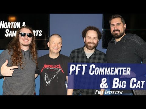 PFT Commenter & Big Cat - Barstool Sports, 'Pardon My Take', Wrestling - Jim Norton & Sam Roberts